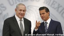 Mexiko Benjamin Netanjahu in Mexiko Stadt