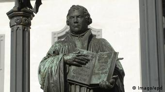 Martin Luther memorial in Wittenberg (Imago/epd)