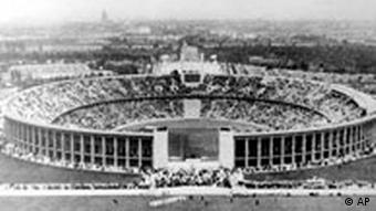 Olympiastadion in Berlin 1936