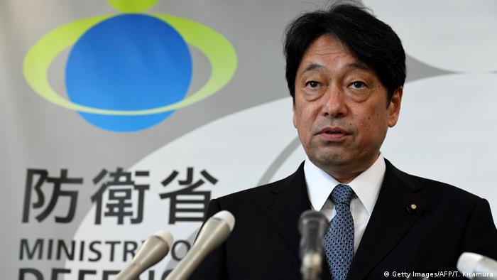 Japan's defense minister Itsunori Onoder