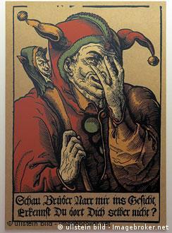 Eulenspiegel-Grafik im Eulenspiegel-Museum in Schoeppenstedt, Niedersachsen (Foto: ullstein bild)