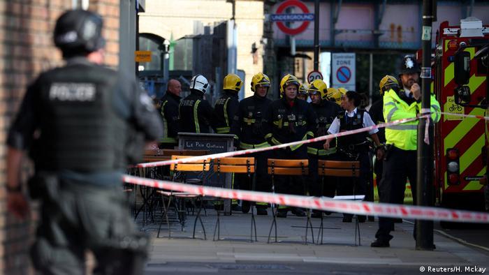 Großbritannien Explosion Metro Parsons Green (Reuters/H. Mckay)