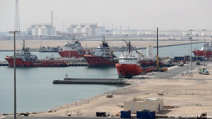 Katar Öl- und Erdgasförderung bei Ras Laffan (Getty Images/AFP/K. Jaafar)