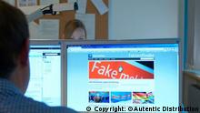 The word Fake on an article at a news website (Copyright: ©Autentic Distribution )