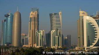 The Doha Skyline (Getty Images for ANOC/M. Runnacles)