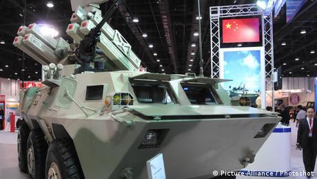 Rüstungsmesse IDEX in Abu Dhabi - Freies Format