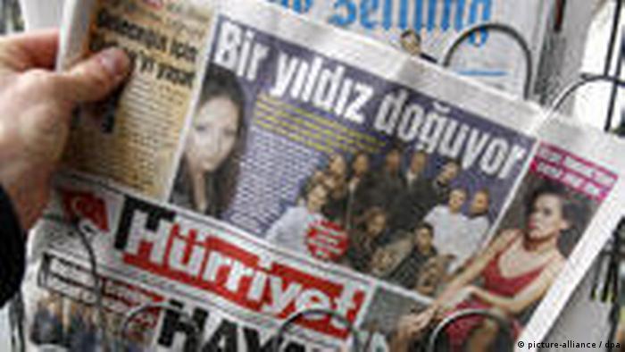 Türkische Zeitungen in Deutschland Hürriyet