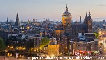 Niederlande Amsterdam: Blick auf die Stadt