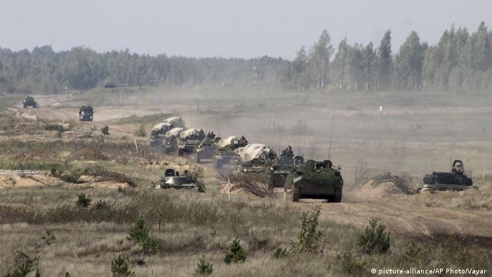Під час військових навчань у Білорусі у вересні 2017 року