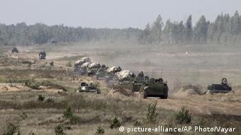 Weißrussland Zapad Militärmanöver