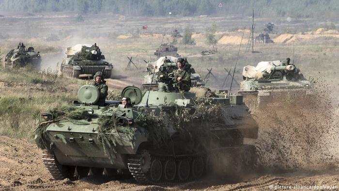 Weißrussland Zapad Manöver