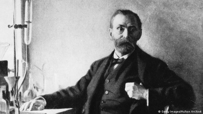 Alfred Nobel Porträt (Getty Images/Hulton Archive)