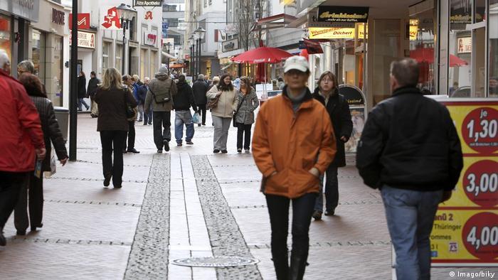 Пешеходната зона на Гелзенкирхен
