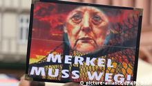 Stimmung vor der Wahl - Anti-Merkel-Potest