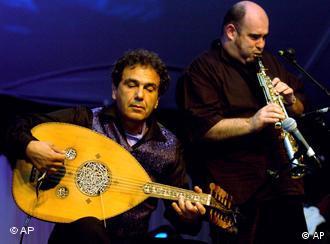 Rabih Abou Khalil bei einem Konzert (Foto: AP)
