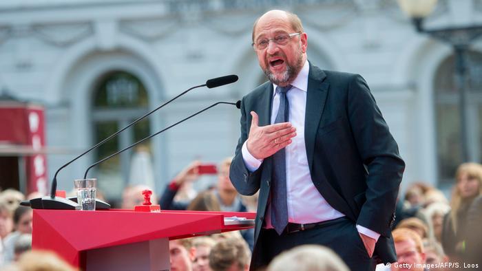 Deutschland Potsdam Wahlkampfauftritt Martin Schulz (Getty Images/AFP/S. Loos)