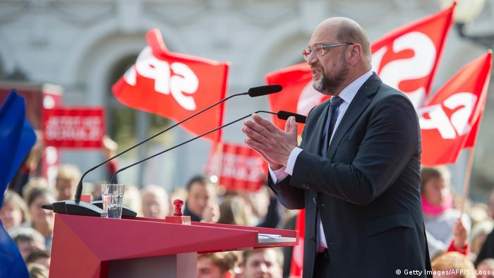 Deutschland Potsdam Wahlkampfauftritt Martin Schulz
