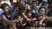 Bangladesch Tankhali Rohingya Flüchtlinge