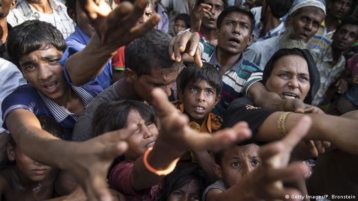 Bangladesch Tankhali Rohingya Flüchtlinge (Getty Images/P. Bronstein)