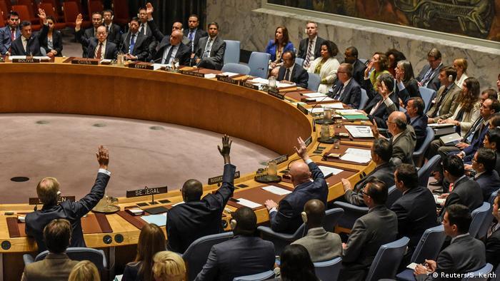 New York City UN Sicherheitsrat tagt zu Nordkorea