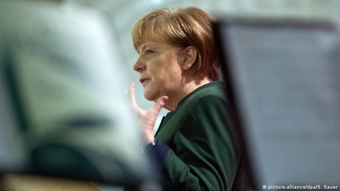 Bundeskanzlerin Angela Merkel (picture-alliance/dpa/S. Sauer)