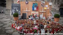 Berlin Breitscheidplatz Gedenken an die Opfer