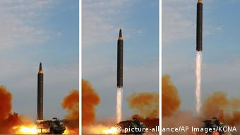 Nordkorea Raketentest (picture-alliance/AP Images/KCNA)