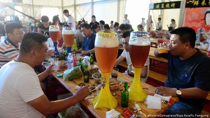 Oktoberfest in der Welt Tsingtao, Shandong, China