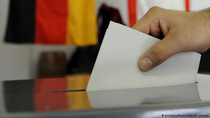 Symbolbild Wahlurne Bundestagswahl