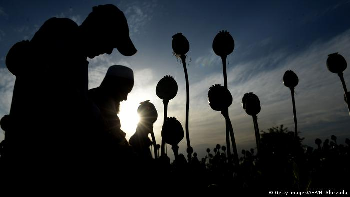 Afgahnistan Silhouette (Getty Images/AFP/N. Shirzada)