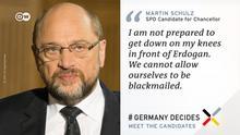 DW #Germany Decides- Zitat-Tafel Schulz