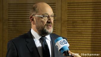 Deutschland wählt DW Interview mit Martin Schulz