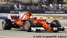 Formel 1 Qualifying in Singapur Sebastian Vettel (Getty Images/AFP/R. Rahman)