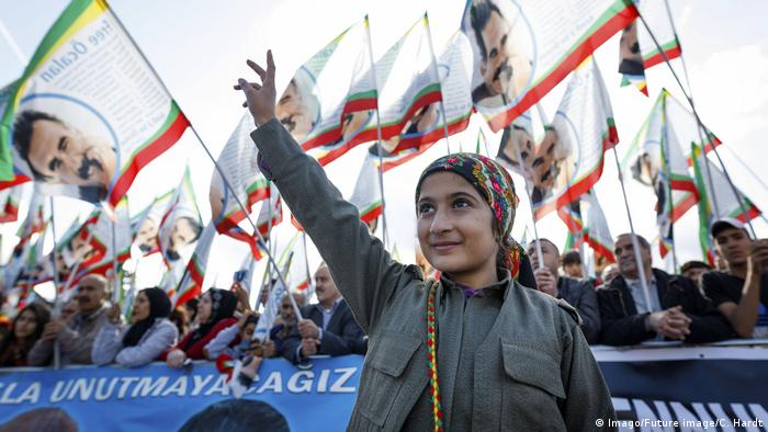 Kurdish cultural festival in Cologne.
