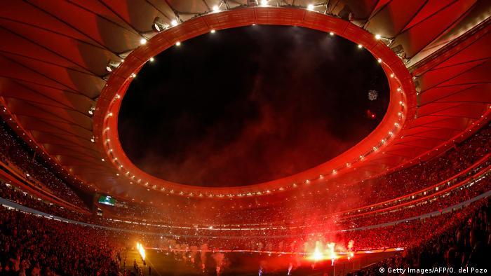 Spanien   Stadion von Atletico Madrid Wanda Metropolitano (Getty Images/AFP/O. del Pozo)