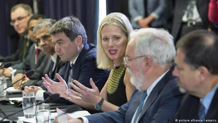 Kanada   30 Minister aus Kanada, China und der EU beraten in Montreal über die Umsetzung von Klimaabkommen (picture alliance / empics)