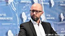 Ukraine | YES-Konferenz 2017 | ehemaliger Regierungschef der Ukraine Arsenij Jazenjuk