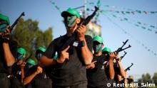 Palästina Gaza Streifen junge Hamas-Kämpfer