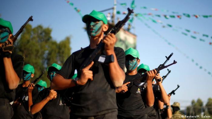 Borci Hamasa u Pojasu Gaze (arhivska snimka)