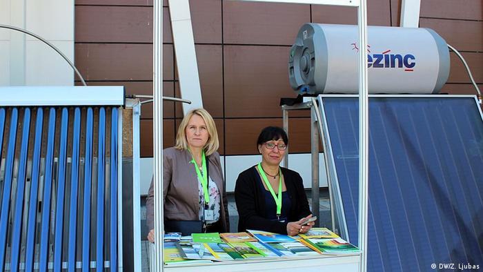 Direktorica Centra za ekologiju i energiju iz Tuzle Džemila Agić (na slici lijevo)