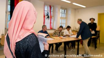 Deutschland Berlin - Wahl zum Berliner Abgeordnetenhaus 2016