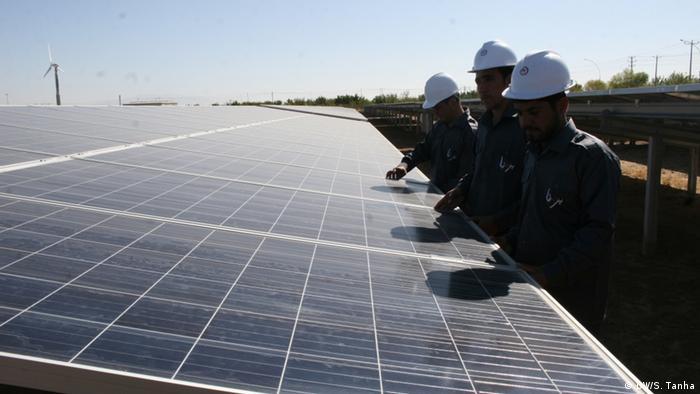 Afghanistan - Wind und Solarenergieanlage von Japan gegründet (DW/S. Tanha)