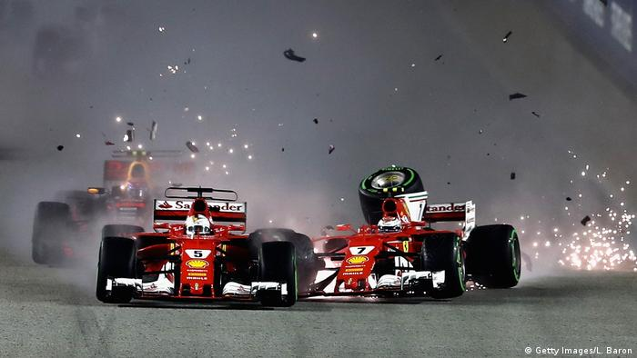Singapur Formel 1 Rennen Marina Bay Circuit (Getty Images/L. Baron)