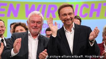 Wolfgang Kubicki (lijevo) i Christian Lindner