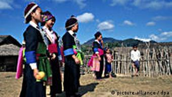 The Hmong are originally hill people from southern China
