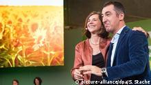 Katrin Göring-Eckardt y Cem Özdemir de Los Verdes