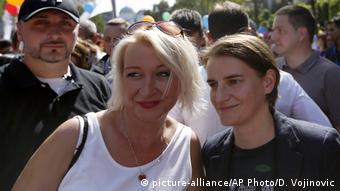 Serbien LGBT-Pride-Parade in Belgrad
