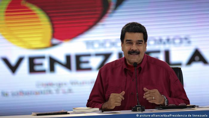 Venezuela Präsident Nicolas Maduro (picture-alliance/dpa/Presidencia de Venezuela)