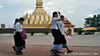 Pha That Luang Laos (picture-alliance / dpa)