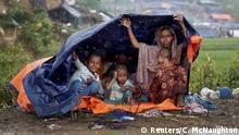 Bangladesch Rohingyas im Flüchtlingslager Cox's Bazar